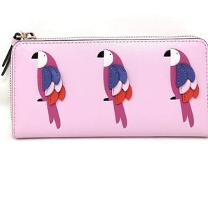 Kate Spade Flock Party  Large Continental Wallet